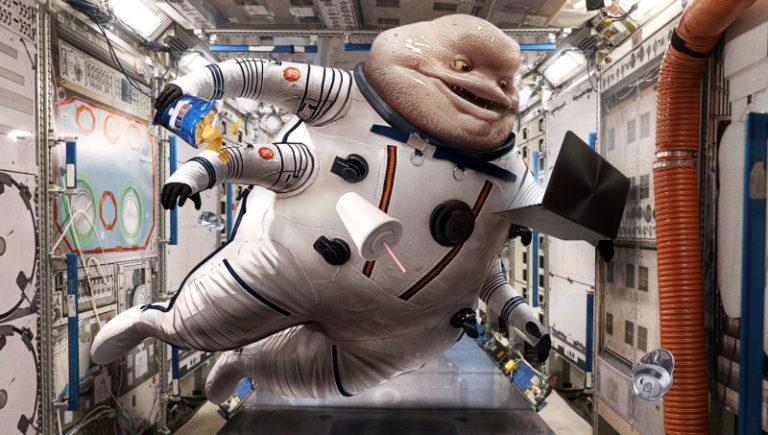 Stres di Luar Angkasa Bisa Bikin Astronot Terserang Herpes