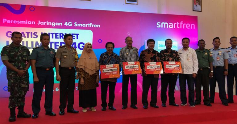 Sebar 4G, Smartfren Dukung Kota Ranai di Natuna Jadi Smart City