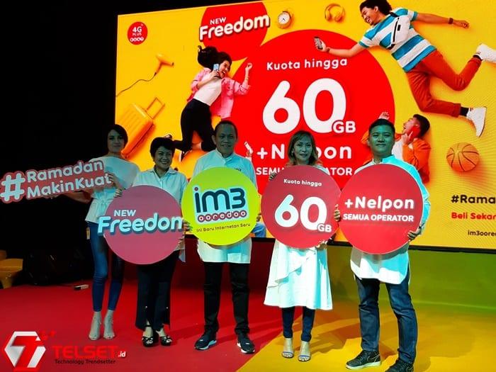 Sambut Ramadan, IM3 Ooredoo Rilis Paket New Freedom
