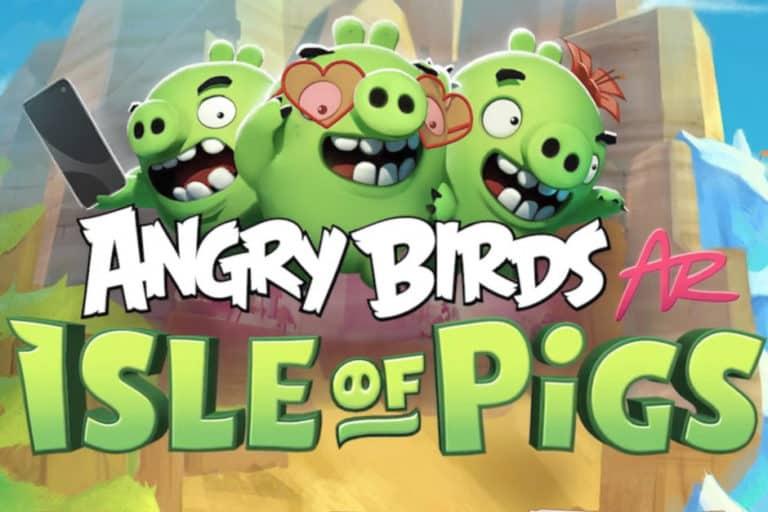 Angry Birds: Isle of Pig Tersedia Gratis di App Store