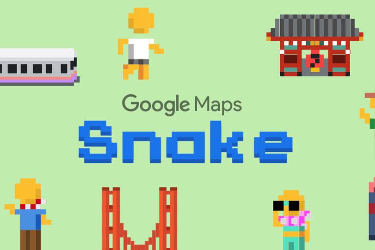 Asyik! Kini Main Game Snake Bisa di Google Maps