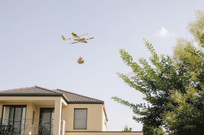 Di Australia Bisa Pesan Kopi Dikirim Pakai Drone