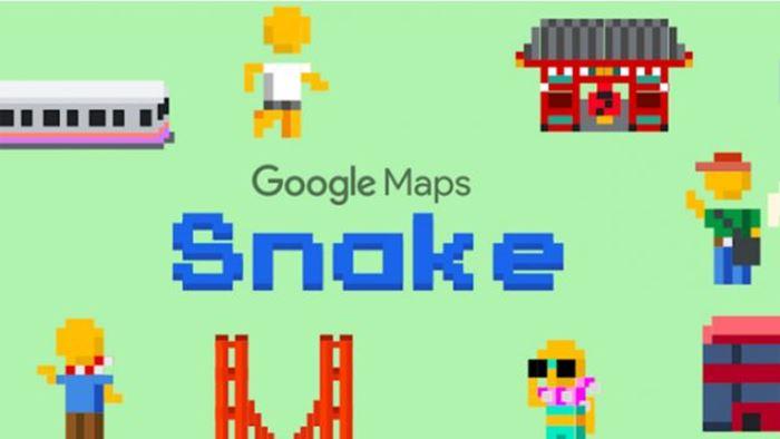 Seru! Begini Cara Main Game Snake di Google Maps