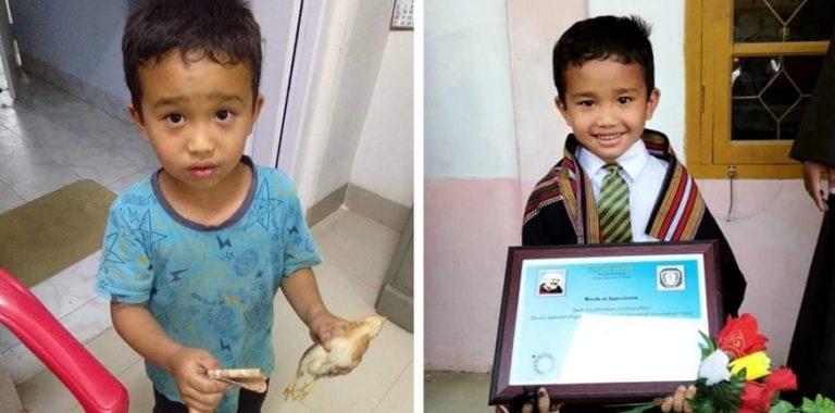 Aksi Bocah Bawa Ayam Mati ke RS Bikin Netizen Terharu