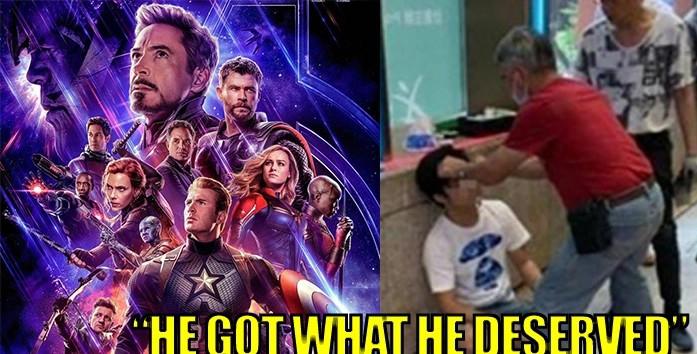 Pria Ini Babak Belur Dihajar Penonton Avengers: End Game