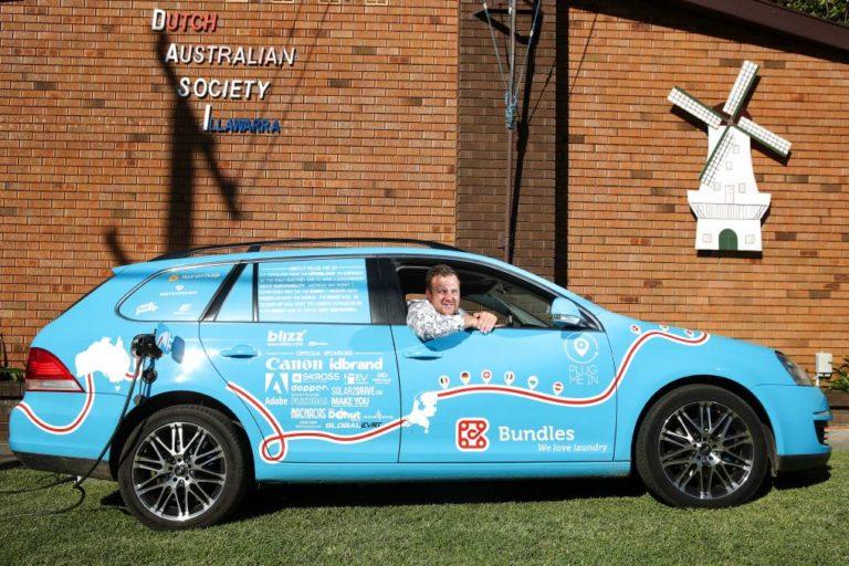Nekat! Pria Ini Pergi dari Belanda ke Australia Pakai Mobil Listrik