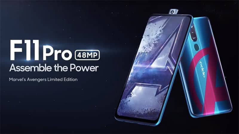 Oppo F11 Pro Marvel Edition