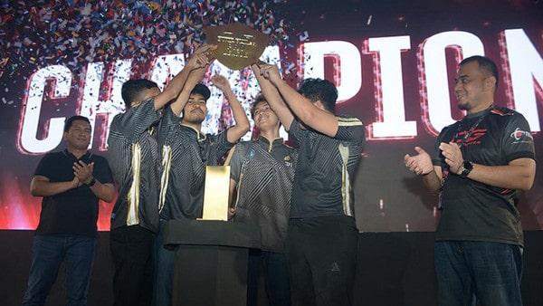 SFI ZET HADES Juara Grand FinalDunia Games Pro League