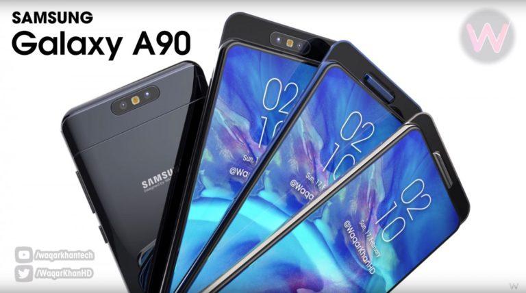 "Bocoran Spesifikasi Samsung Galaxy A90, Ada ""Kamera Berputar"" 48MP!"