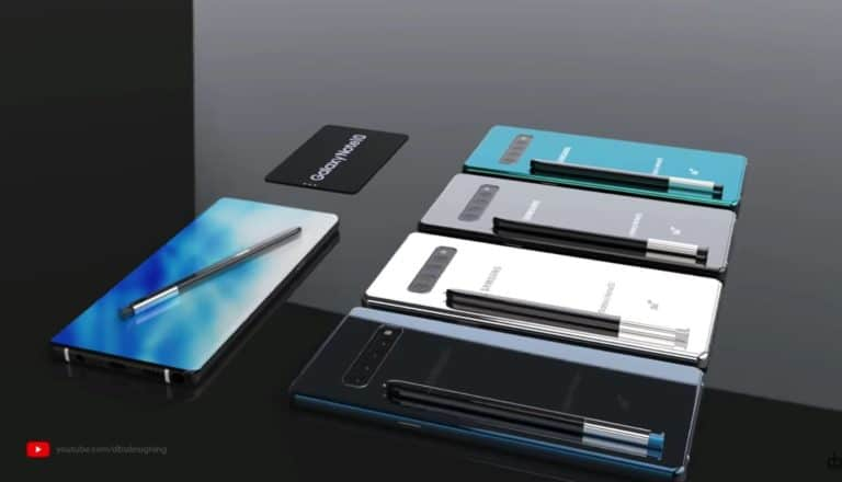 Samsung Siapkan Empat Model Galaxy Note 10, Termasuk 5G