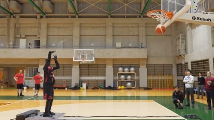 Toyota Bikin Robot yang Jago Main Basket