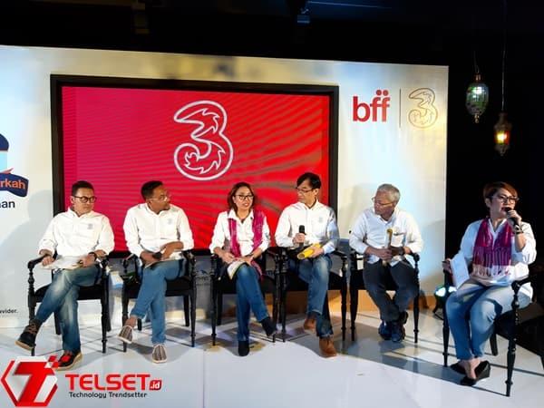 Antisipasi Mudik Lebaran, Tri Siapkan 37 Mobile BTS