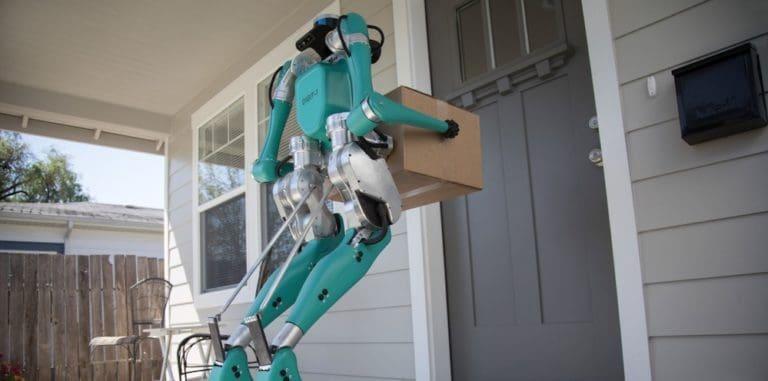 Ford Bikin Robot Pengirim Barang, Ini Penampakannya