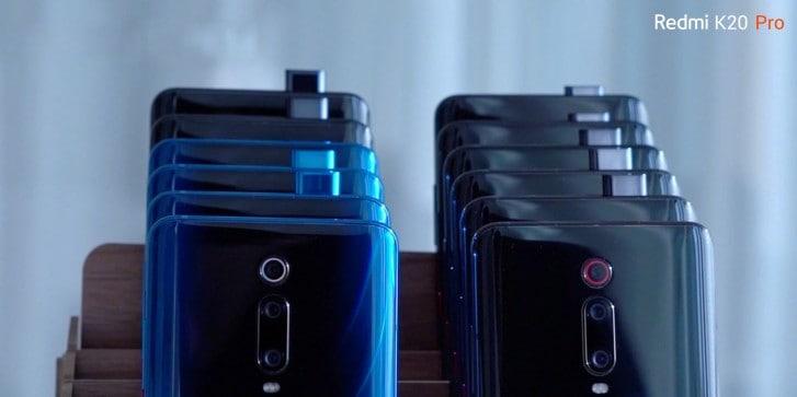 Xiaomi Patenkan Kamera Pop-up dengan 7 Sensor Kamera