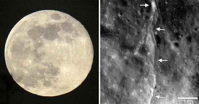 Bulan menyusut