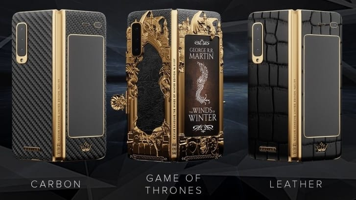 Caviar Rilis Samsung Galaxy Fold Edisi Game of Thrones, Harganya?