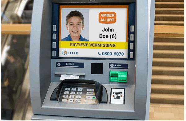 Unik! ATM di Belanda Tampilkan Informasi Anak Hilang