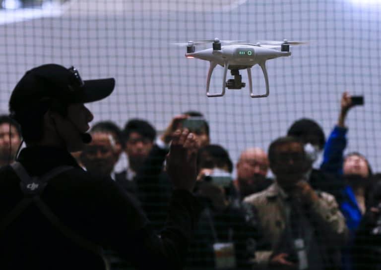 AS Sebut Drone Buatan China Rawan Dipakai Spionase