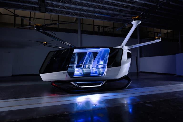 Taksi Terbang Futuristik Ini Bisa Angkut Lima Penumpang