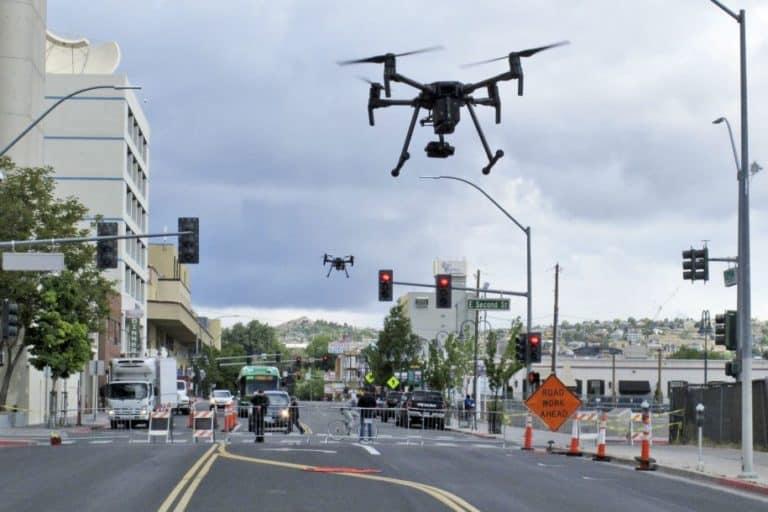 NASA Mulai Simulasi Lalu-lintas Drone Pengantar Pizza