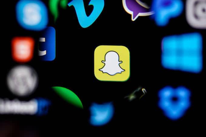 Pilpres AS 2020 Snapchat