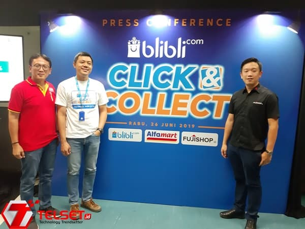 Click and Collect Blibli