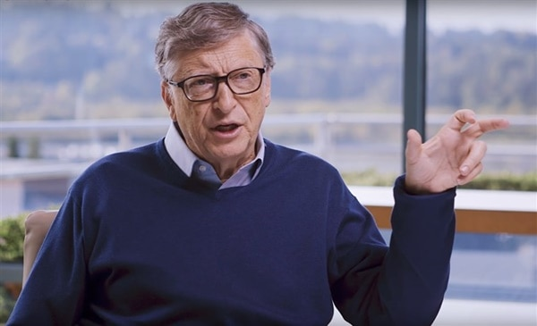 Bill Gates Curhat