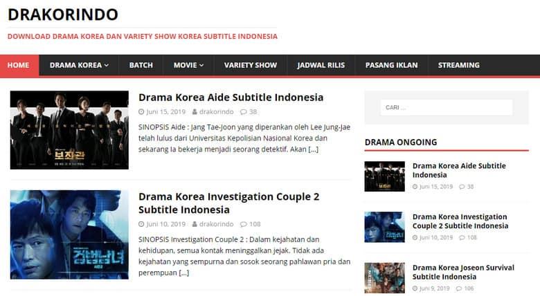 situs drama Korea subtitle Indonesia