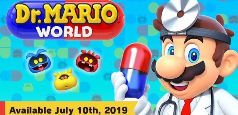 Nintendo Rilis Dr Mario World untuk Android dan iOS