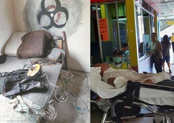 Ponsel Meledak, Pemuda Malaysia Alami Luka Bakar Serius