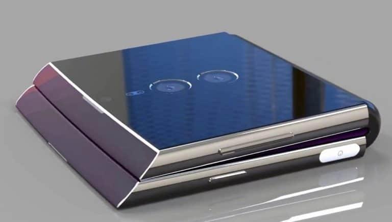 Seperti Inikah Ponsel Lipat Sony Bernama Xperia F?