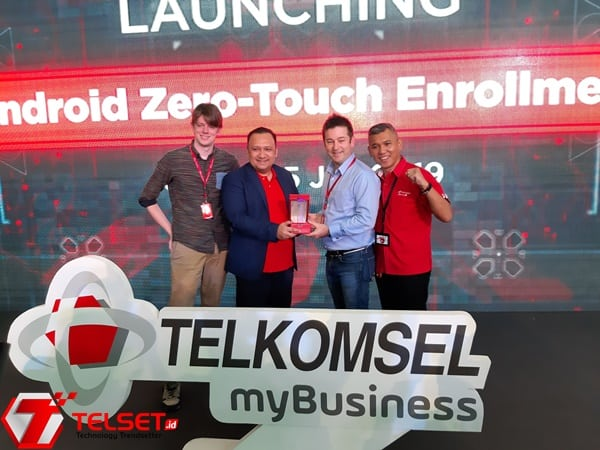 Gandeng Google, Telkomsel Perkenalkan 'Android Zero Touch'
