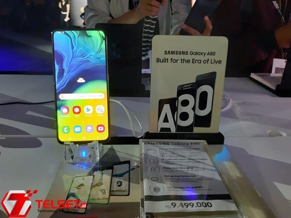 Resmi Diperkenalkan, Ini Harga Samsung Galaxy A80