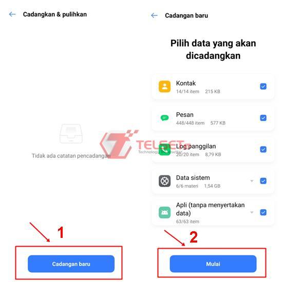 Cara Hapus Data HP Android