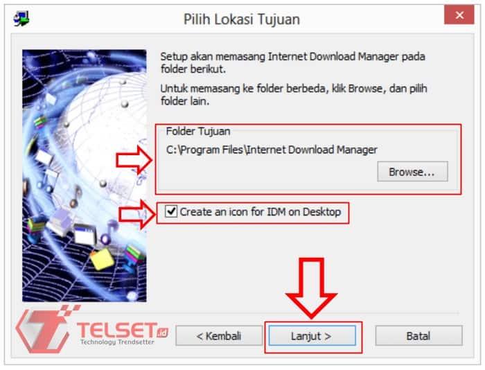 Cara Install IDM Terbaru di pc