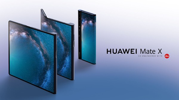 Nah Lho! Bos Huawei Ketahuan Sudah Pakai Mate X