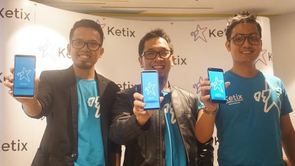 Startup KETIX Berambisi Lahirkan 1 Juta Penulis Baru