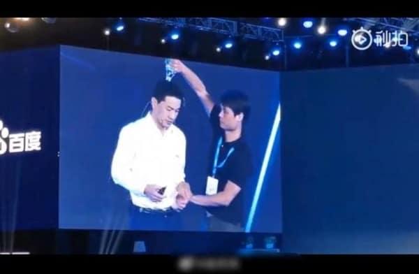 Polisi China Ciduk Pria Penyiram Air ke CEO Baidu