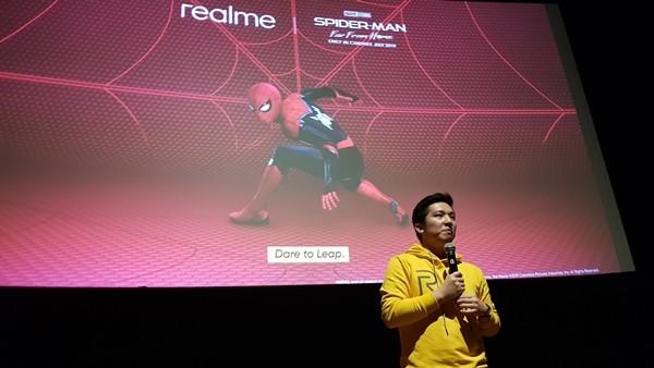 Realme Spiderman