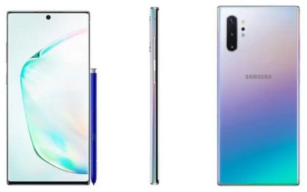 Tampang Menawan dari Duo Samsung Galaxy Note 10