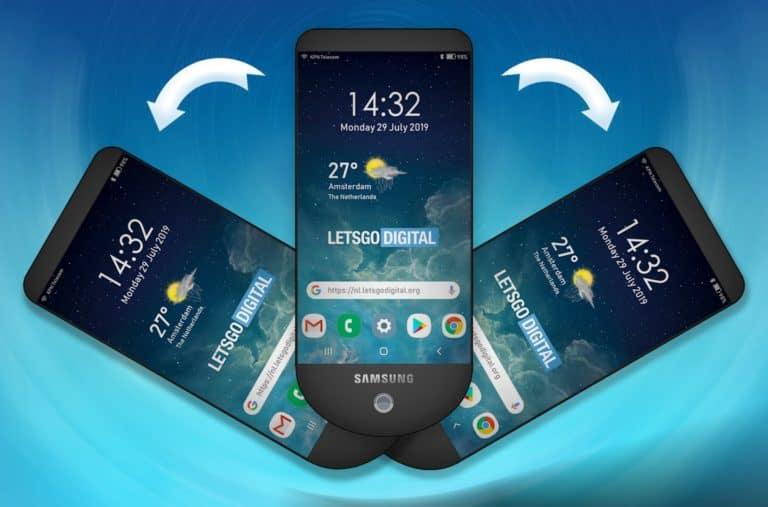 Samsung Siapkan Ponsel Tiga Layar, Mirip Kipas