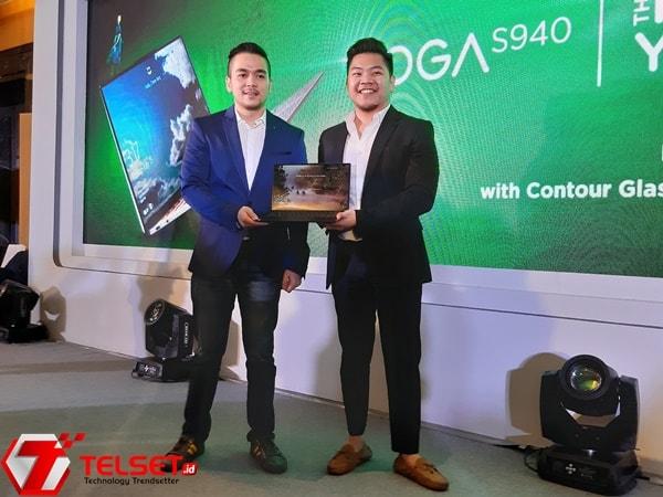 Lenovo Yoga S940, Laptop dengan Fitur Pemindai Wajah