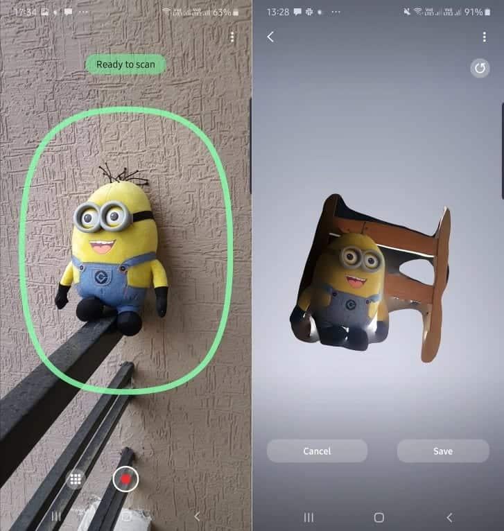 Samsung Kenalkan Aplikasi 3D Scanner untuk Galaxy Note 10