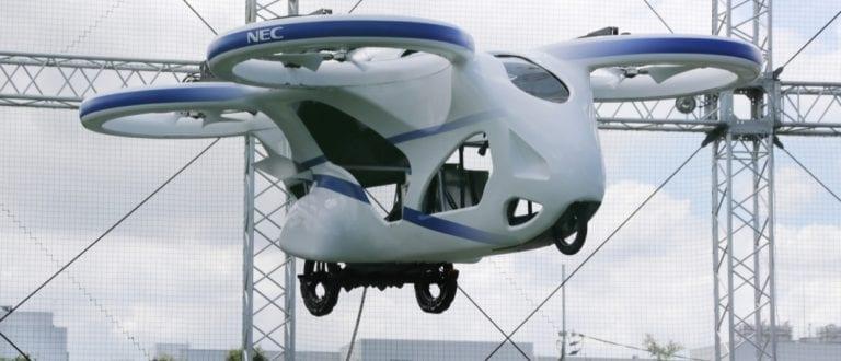 Jepang Uji Coba Penerbangan Mobil Terbang