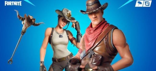 Ada Skin Baru untuk Duo Koboi di Fortnite
