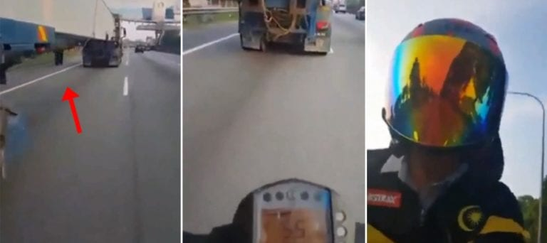 Nekat, Bikers Ini Ngebut di Jalanan Sambil Main Ponsel