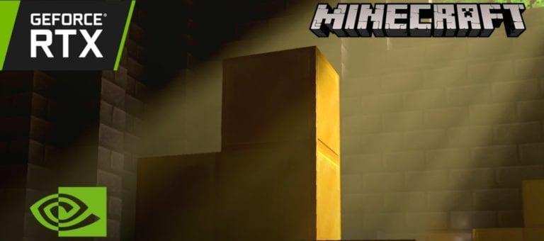 Ada Peningkatan Grafis Minecraft untuk Pengguna NVIDIA RTX