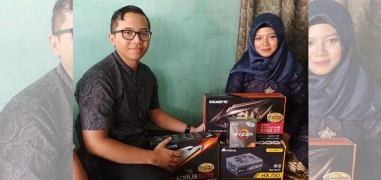 Kocak! Gamer Ini Kasih 'Seserahan' PC Gaming Saat Ngelamar Istrinya