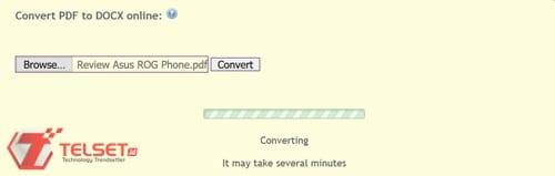 Dokumen PDF ke Word