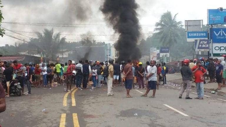 Pasca Kerusuhan, Layanan Telkomsel di Jayapura sudah Pulih 90%